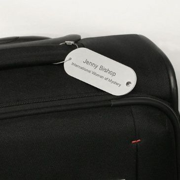 Personalised Travel Tag